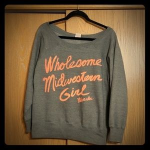 Wholesome Midwestern Girl Sweater